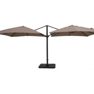 Двойной металлический зонт A008 (3х6 м)