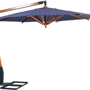 Садовый зонт восьмигранник SLHU003 (диам. 3 м) синий