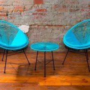 Комплект мебели Acapulco Blue — Садовая мебель — Мебель из ротанга — Комплекты садовой мебели из ротанга — Мебель для отдыха