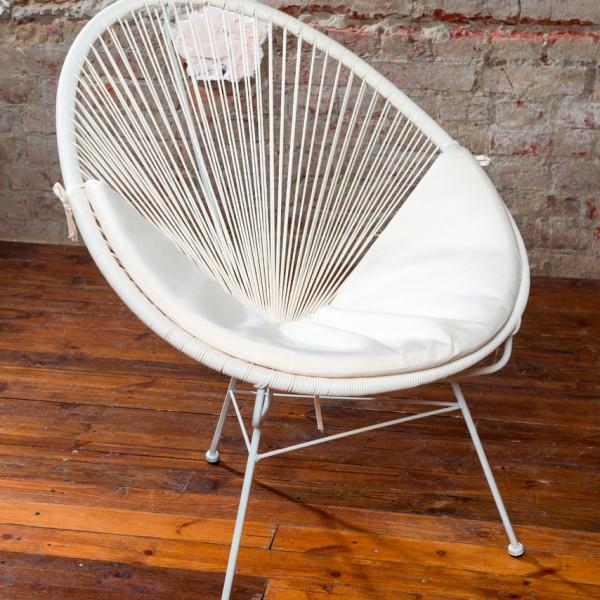 Кресло Acapulco White