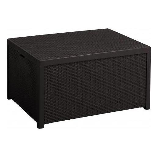 Кофейный столик - сундук для хранения Arica Rattan Table (79х59х42 см)