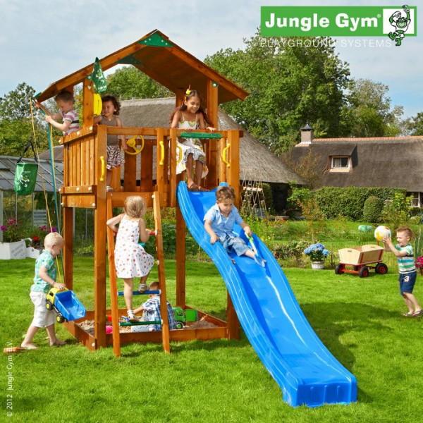 Детский городок Jungle Gym Fort (441х200х301 см)