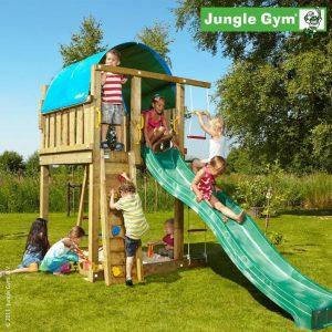 Детский городок Jungle Gym Villa (410х180х380 см)