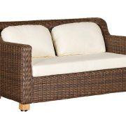 Диван Либрари (150х87х80(32)см) — Садовая мебель — Мебель из ротанга — Диваны из ротанга