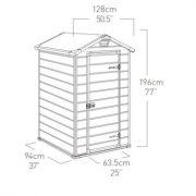 94 м) — Садовое хранение — Сараи (Хозблоки) — Пластиковые сараи (хозблоки)