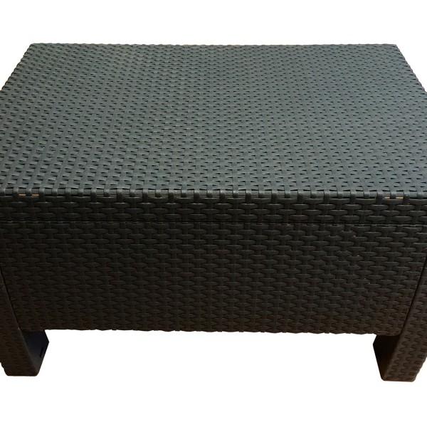 Столик-сиденье Антрацит (77х57-50х42 см)