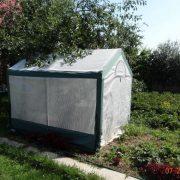 4×2 м с комбинированным армированным тентом — Сад и огород — Теплицы — Тентовые теплицы